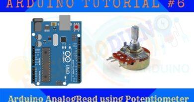 Analog Data Read using Potentiometer