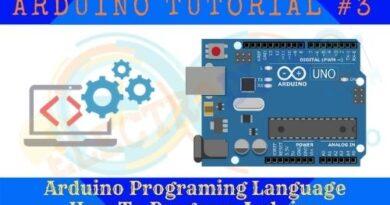 Arduino Programing Language How To Program Arduino