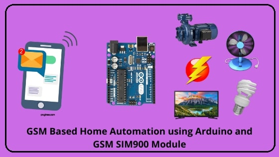 GSM Based Home Automation using Arduino and GSM SIM900 Module