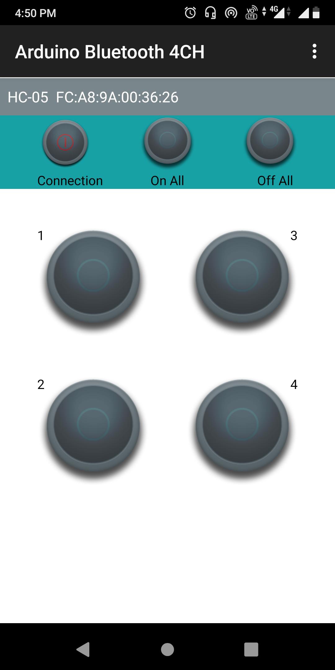Arduino Bluetooth Controller APP Setup 2, HC-05 Bluetooth Control Home Automation