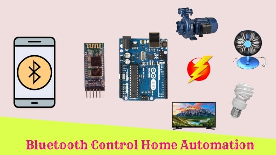 Home Automation using Arduino and Bluetooth HC-05 Module