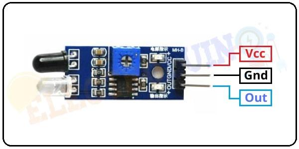 IR Sensor Module pin diagram - pin out