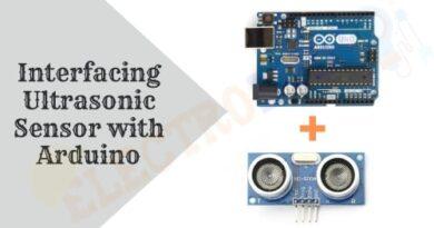 Interfacing HC-SR04 Ultrasonic Sensor with Arduino
