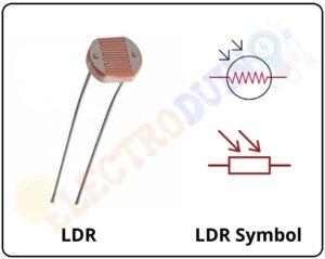 LDR or Light Dependent Resistor & Symbol