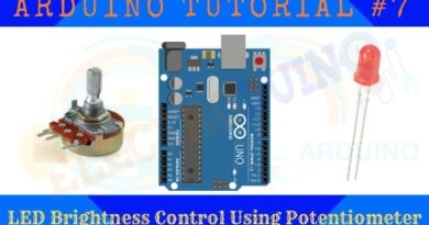 LED Brightness Control Using Potentiometer