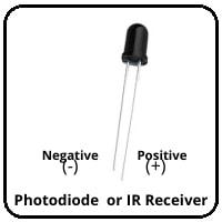 Photodiode Receiver or IR Receiver