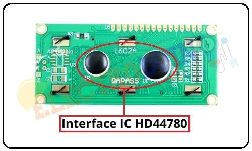 16x2 LCD Display Module Interface IC HD44780