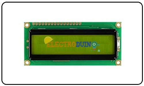 16x2 LCD Display Module Liquid Crystal Display Module