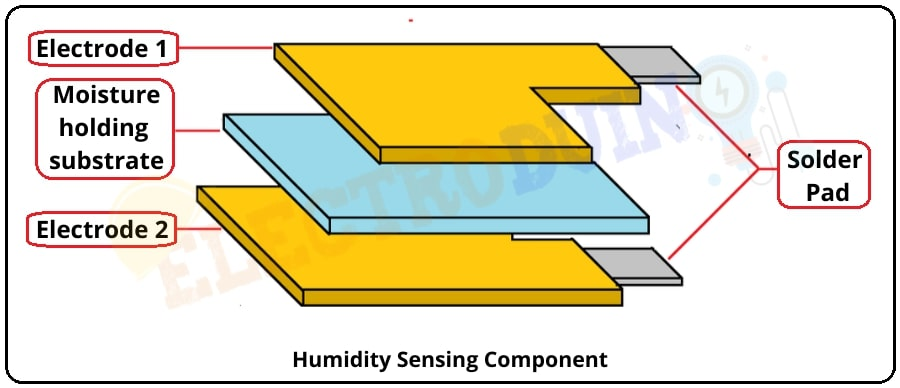 DHT11 and DHT22 Sensor Humidity Sensing Component