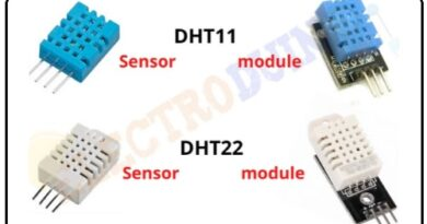 DHT11 and DHT22 Temperature and Humidity Sensor and Module