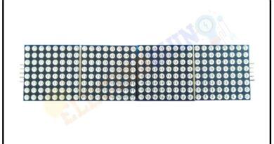 MAX7219 - 4 in 1 LED Dot Matrix Display Module