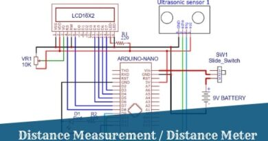 Distance Measurement using Ultrasonic Sensor and Arduino with LCD display