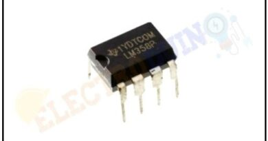 LM358 Op-Amp IC – Pinout, Specifications