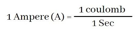 1 Ampere Definition