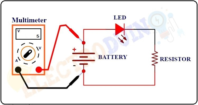 How to measure Voltage using Multimeter