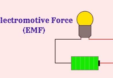 What is EMF or Electromotive Force? Definition, Symbol, Unit, Formula